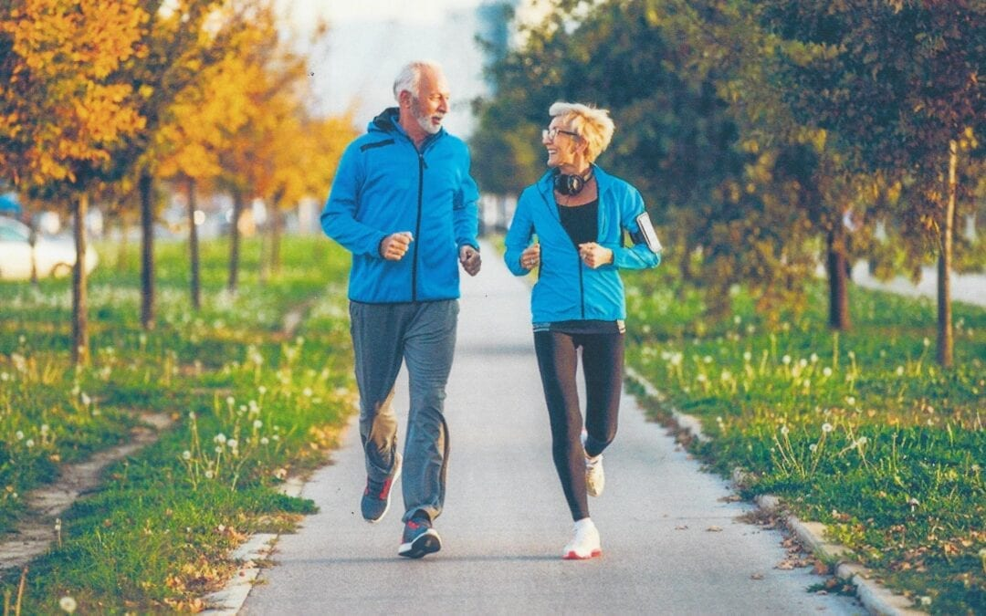 Stay Young with Exercise and Nutrition
